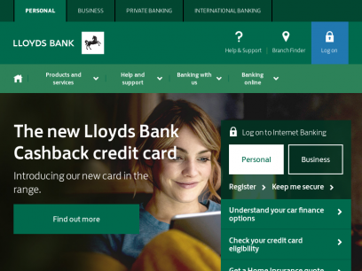 Lloyds Bank - Personal Banking, Personal Finances & Bank Accounts