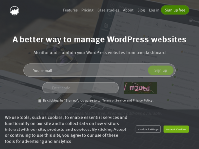 ManageWP – Manage WordPress Sites from One Dashboard