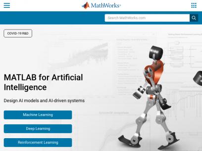 MathWorks - Makers of MATLAB and Simulink - MATLAB & Simulink
