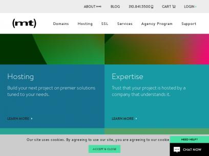 Premium Web Hosting Services   Media Temple