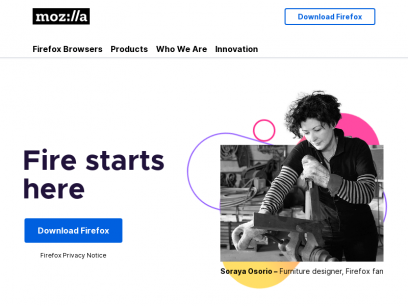 Internet for people, not profit     — Mozilla