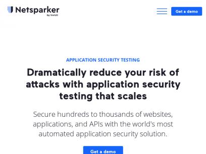 Netsparker   Web Application Security For Enterprise