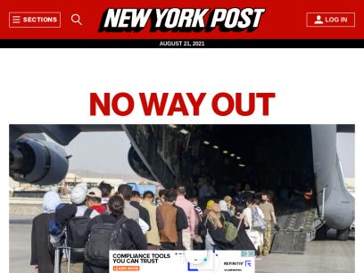 New York Post – Breaking News, Top Headlines, Photos & Videos