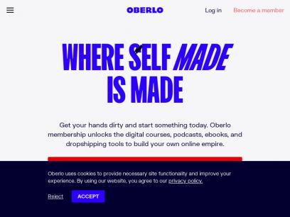 Oberlo | Where Self Made is Made
