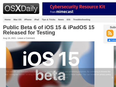OS X Daily - News and Tips for Mac, iPhone, iPad, and Everything Apple
