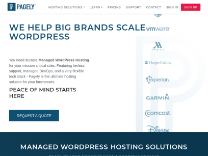 EU Managed WordPress Hosting by Pagely®
