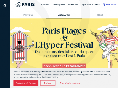 Sites like paris.fr &         Alternatives