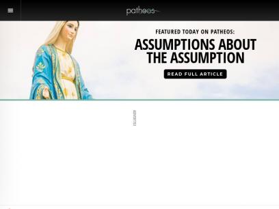 Patheos   Hosting the Conversation on Faith
