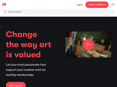 Best way for artists and creators to get sustainable income and connect with fans | Patreon