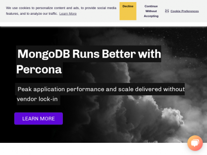 Percona – The Database Performance Experts