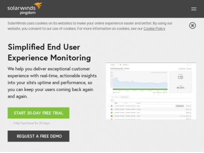Website Performance and Availability Monitoring | Pingdom