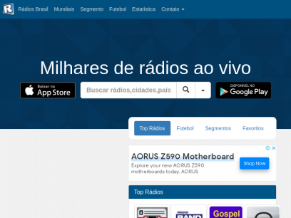 Sites like radios.com.br &         Alternatives