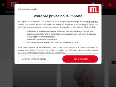 Toute l'actualité en direct et en vidéo sur RTL.fr : politique, international, faits divers...