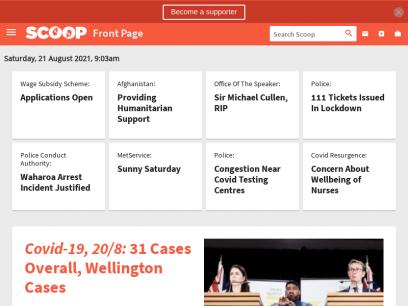 Scoop - New Zealand News