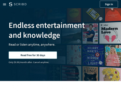 Discover the Best eBooks, Audiobooks, Magazines, Sheet Music, and More | Scribd