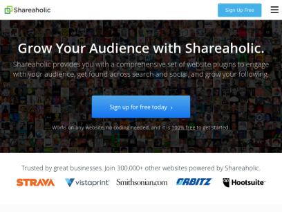 Shareaholic   Content Marketing Platform & Website Traffic Tools
