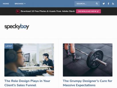 Speckyboy Design Magazine - Design News, Resources & Inspiration