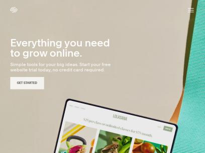 Build a Website – Website Builder – Squarespace
