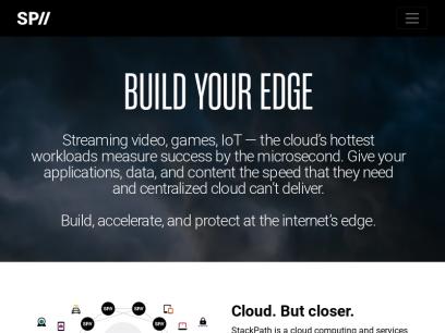 StackPath   Edge Computing   Edge Delivery