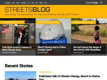 Streetsblog.org – Better walking, biking, and transit