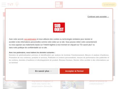 Sud Ouest : actualités en direct et infos du journal Sudouest.fr