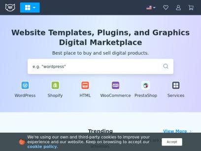 Web Templates | HTML5 Website Templates | Web Graphics