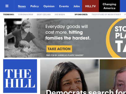 The Hill - covering Congress, Politics, Political Campaigns and Capitol Hill