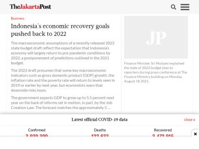 The Jakarta Post  - Always Bold. Always Independent