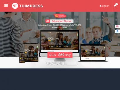 Premium WordPress Themes, Plugins, SEO Friendly - ThimPress
