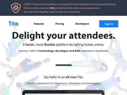 Sites like ti.to &         Alternatives