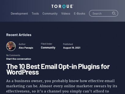 Sites like torquemag.io &         Alternatives