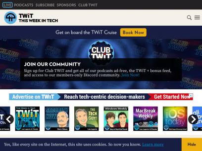 Sites like twit.tv &         Alternatives