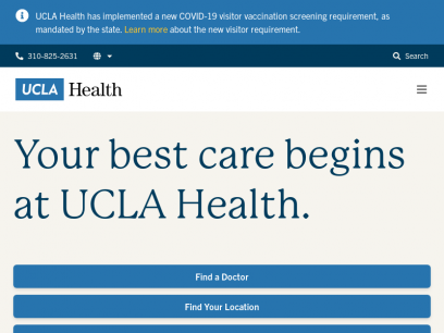 UCLA Health: Center for High Quality Health Care Services