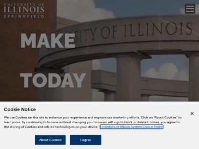 Home | University of Illinois Springfield