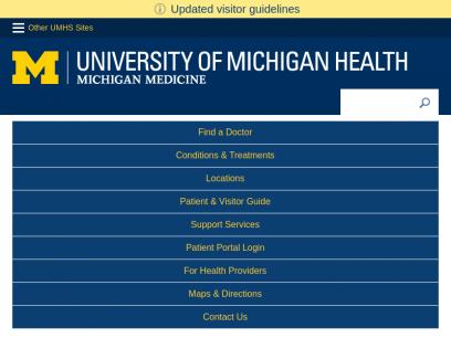 University of Michigan   Michigan Medicine