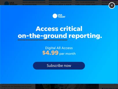 USA TODAY: Latest World and US News - USATODAY.com