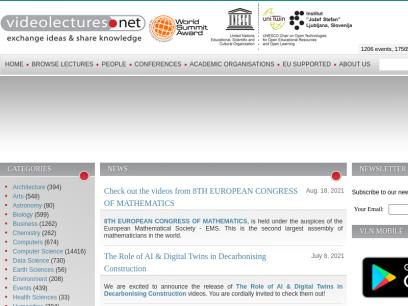 VideoLectures.NET - VideoLectures.NET