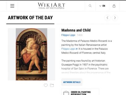 WikiArt.org - Visual Art Encyclopedia
