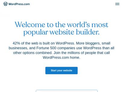 WordPress.com: Create a Free Website or Blog