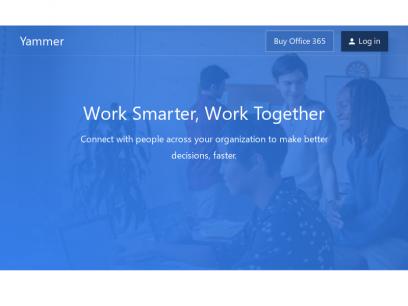 Yammer: Work Smarter, Work Together