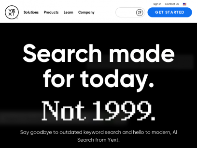 Yext: AI Search Solutions for Every Business