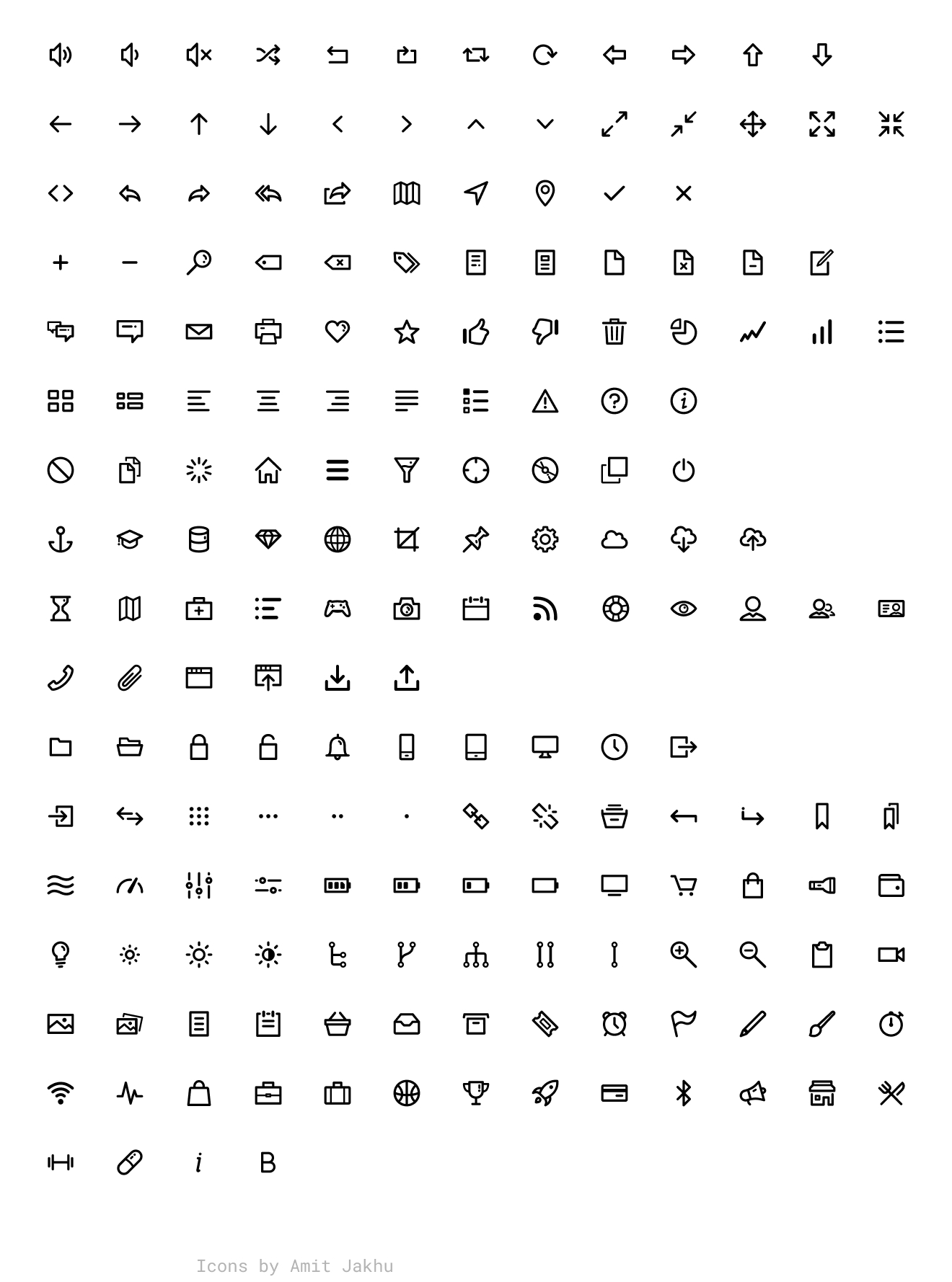 Dripicons Figma Library - Figma library for the Dripicons iconset by Amit Jakhu.