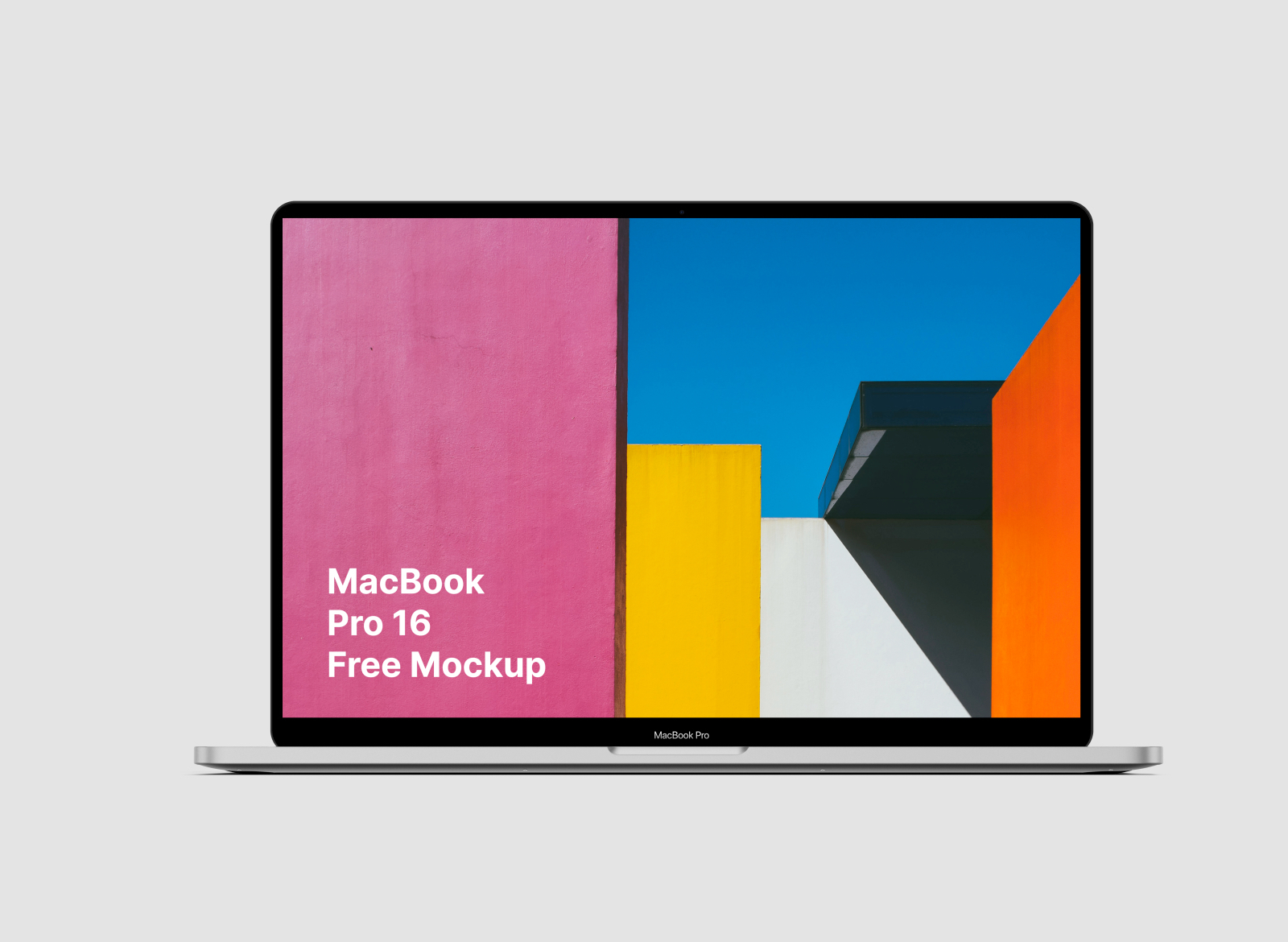 Free Macbook Pro 16 Mockup - Newest MacBook Pro 16 mockup. Use it for your web design or app design projects