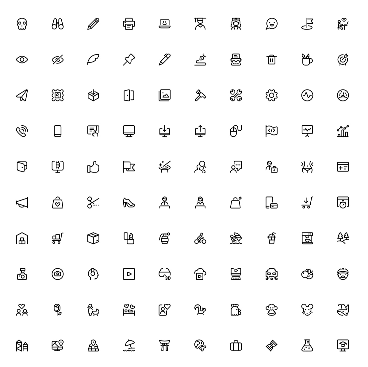 Free Streamline Icons - Streamline 3.0 is the world's largest icon library