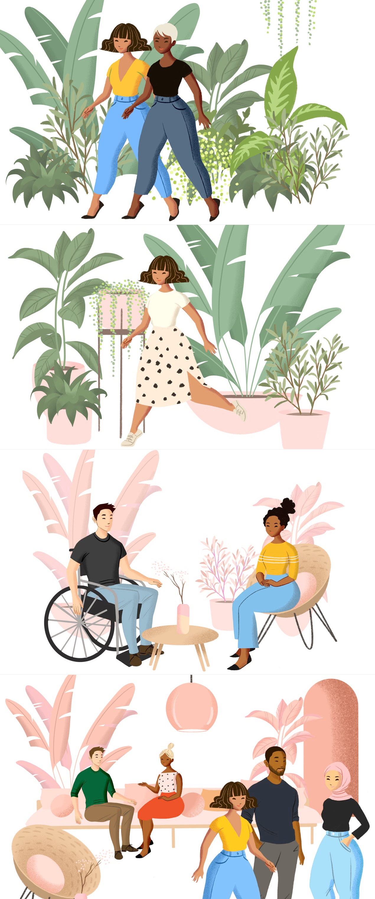 Fresh Folk Illustration Library - An illustration library of people and objects