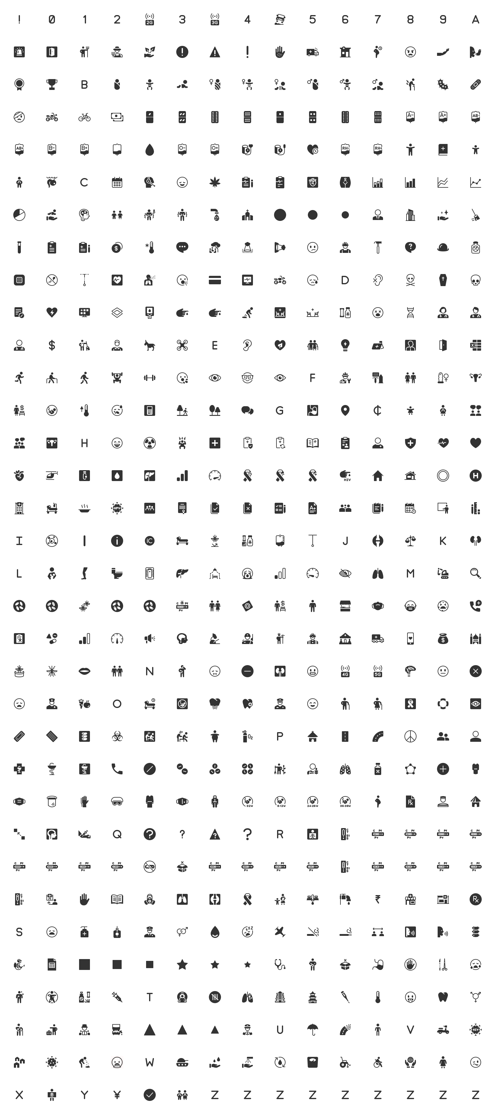 Free Health Icons - 1000+ free, open source health icons. Free for use in your next commercial or personal project.