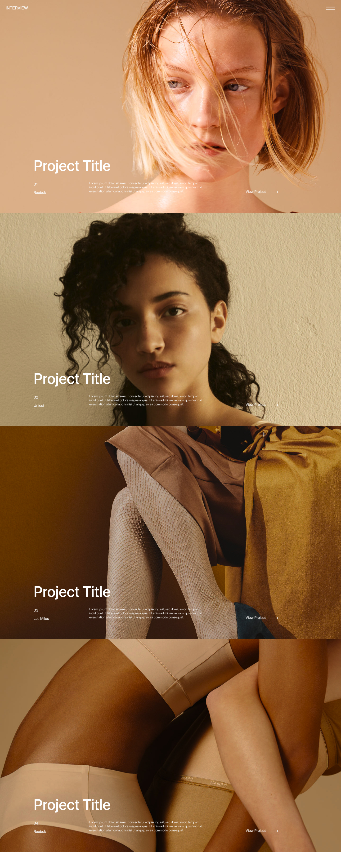 Interview Web Design Free Landing Page for Figma - A simple way to quickly create a new portfolio. Elegant and clean template, modern & clean look.