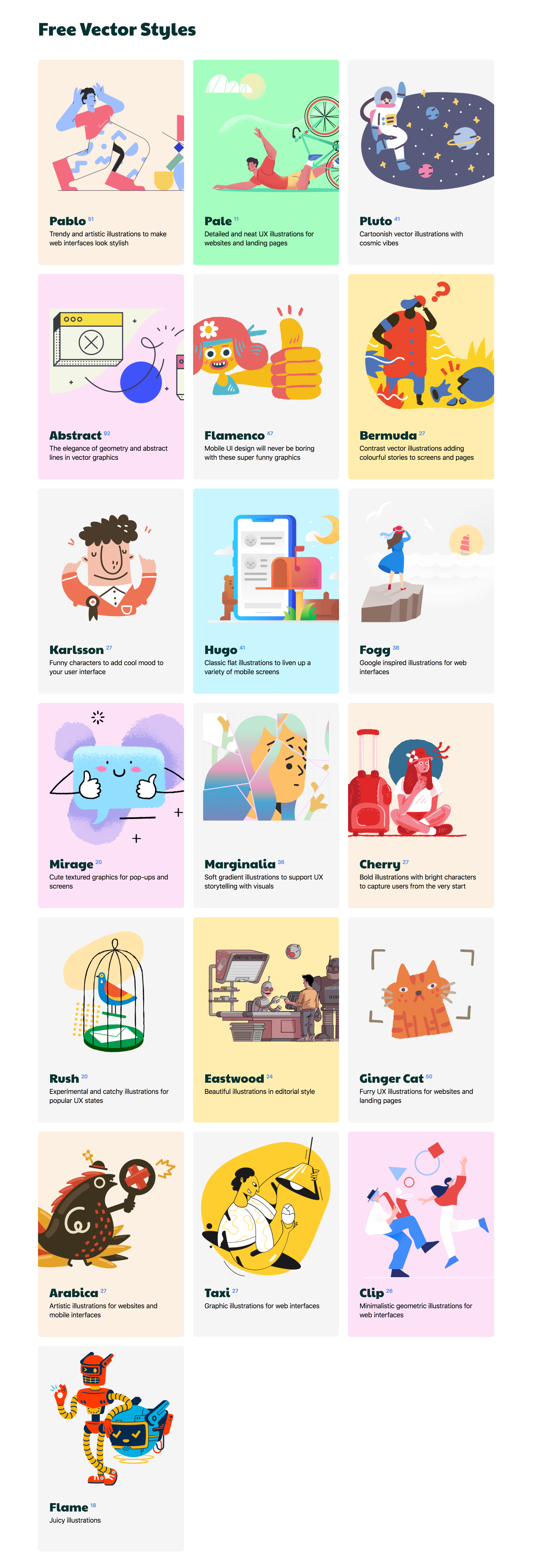 Ouch! - Free illustrations - Ouch helps creators who don't draw overcome the lack of quality graphics. Download the free illustrations from top Dribbble artists to class up your product.
