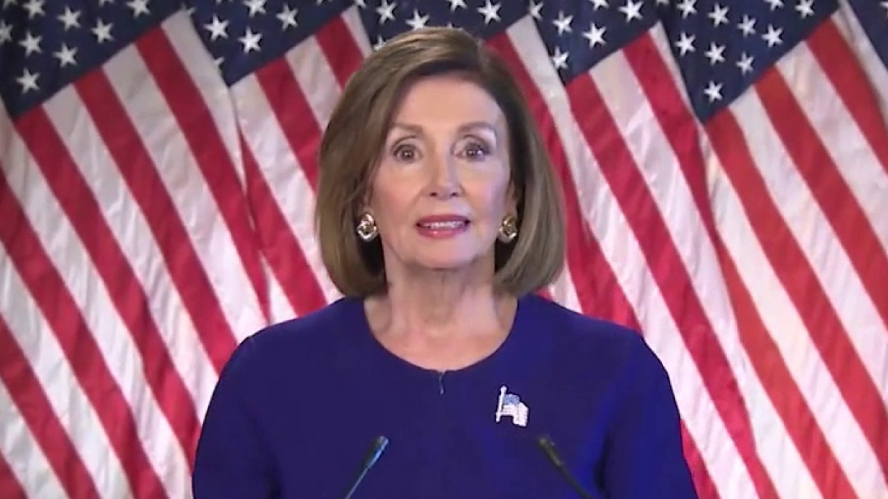 Pelosi vows to challenge Trump's 'dangerous, illegal' move to freeze WHO funding
