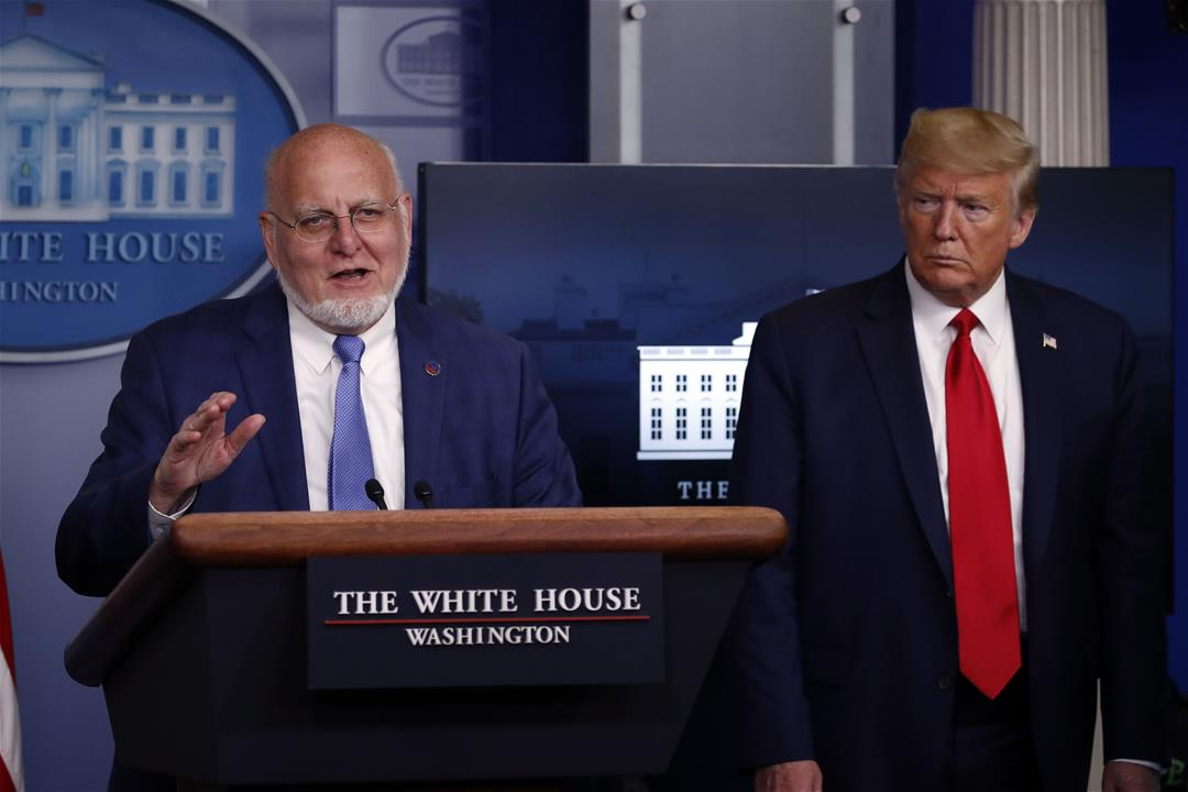 CDC Director Robert Redfield Says '19, 20 States' Could Be Ready to Reopen May 1